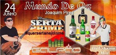 Espaço para shows e eventos será inaugurado neste sábado (24) em Joaquim Pires