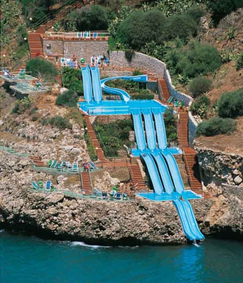 A Cup Of Jo Blog: Let's Stay Here: Italian Water Slide