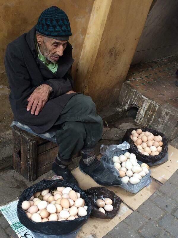 O vendedor de ovos