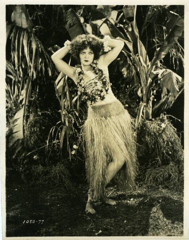 Here below is a charming vintage photo collection of beautiful women in Hula  Dance costumes in the past.