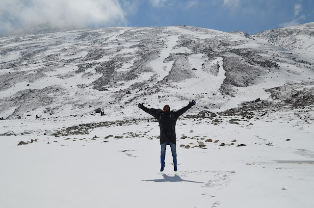 My Excitement at Zero Point, North Sikkim