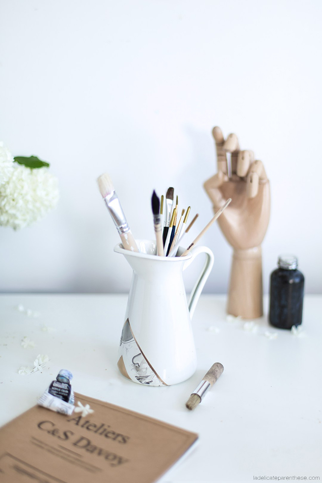 Diy TUNEA ESTAS JARRAS DE IKEA CON PINTAUÑAS