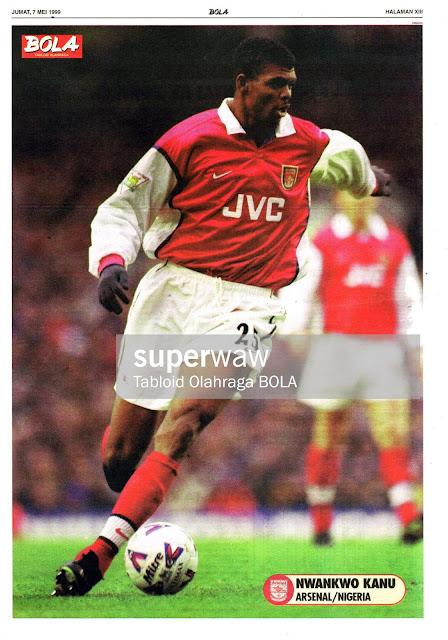 NWANKWO KANU ARSENAL 1998