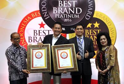 Penghargaan  Indonesia Best Brand Award