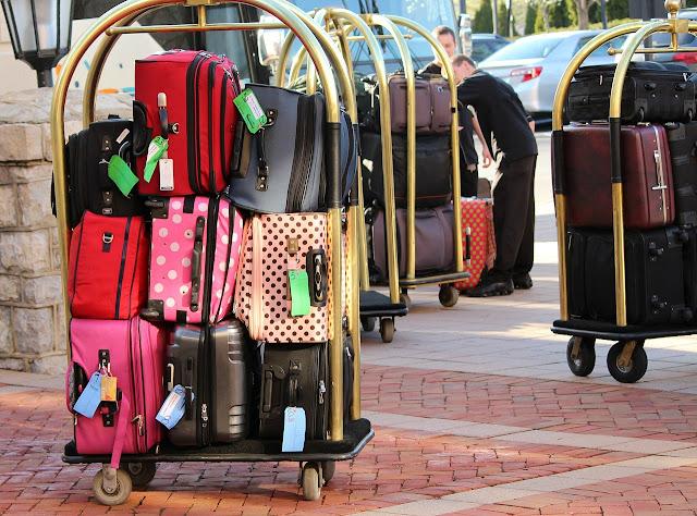 Como comprar malas durante a viagem