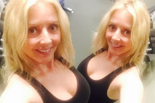 , Hot Presenter Carol Vorderman looks incredible as she shares busty selfie without makeup, Latest Nigeria News, Daily Devotionals & Celebrity Gossips - Chidispalace