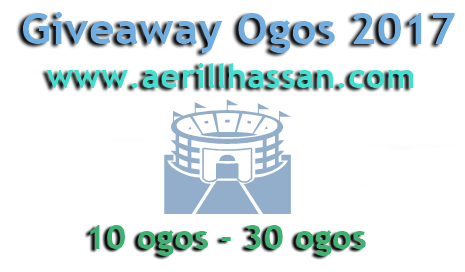 Giveaway Ogos 2017 by www.aerillhassan.com