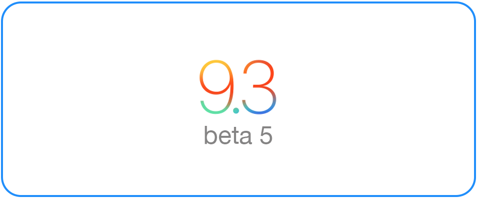 iOS 9 3 beta 5 disables Night Shift in Low Power Mode - iPad