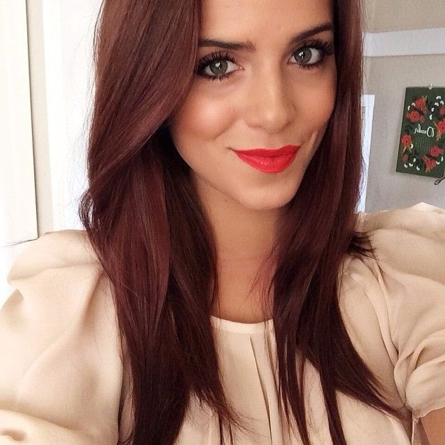 New Hairstyle 2014: Medium Chestnut Brown Hair Pictures