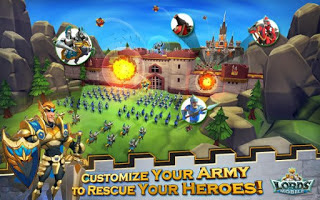 Download Game Lords Mobile Apk v1.35 MOD (VIP Level) Update terbaru
