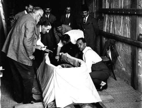 Tutankhamun first autopsy
