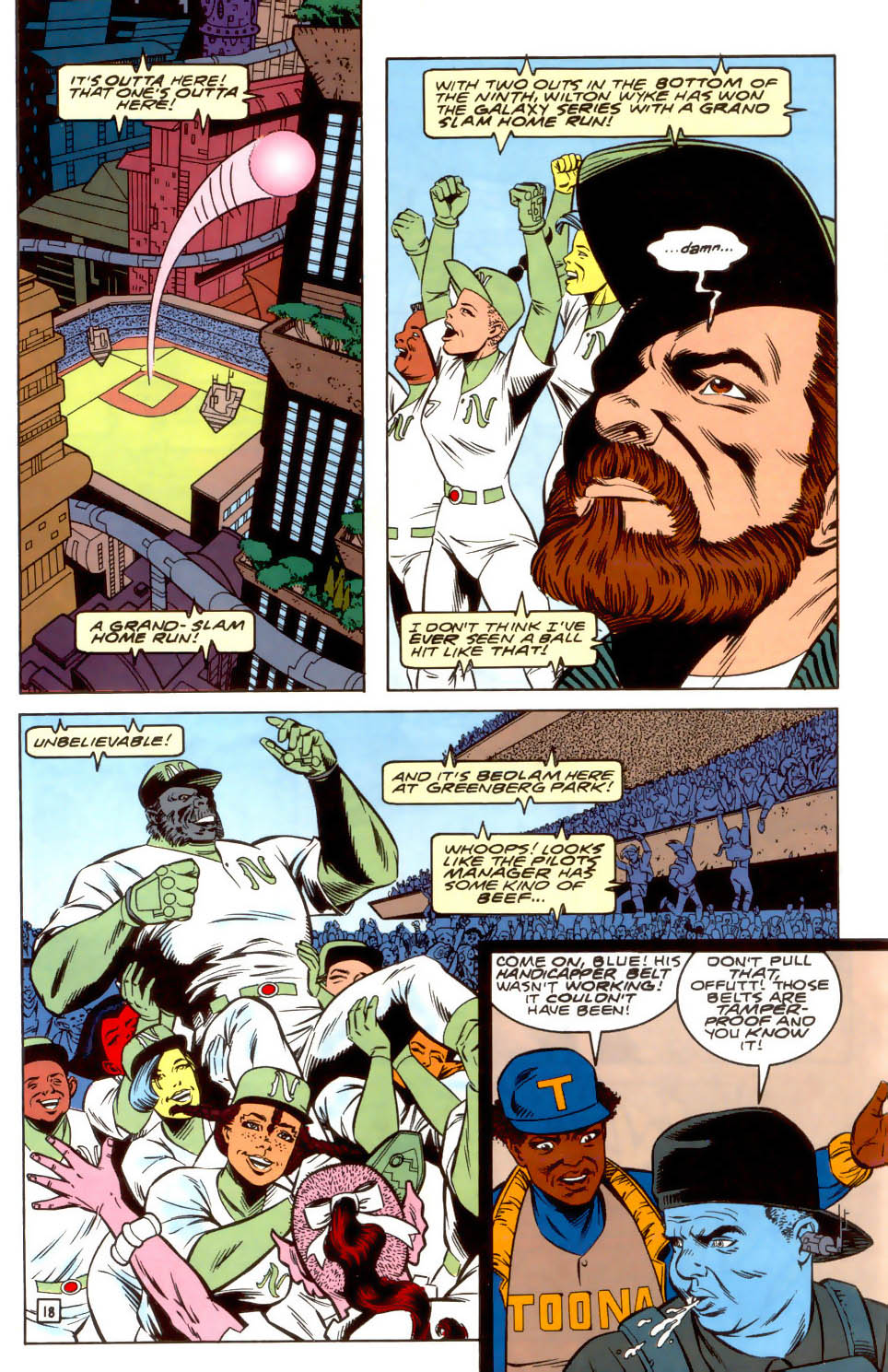 Legion of Super-Heroes (1989) 37 Page 18