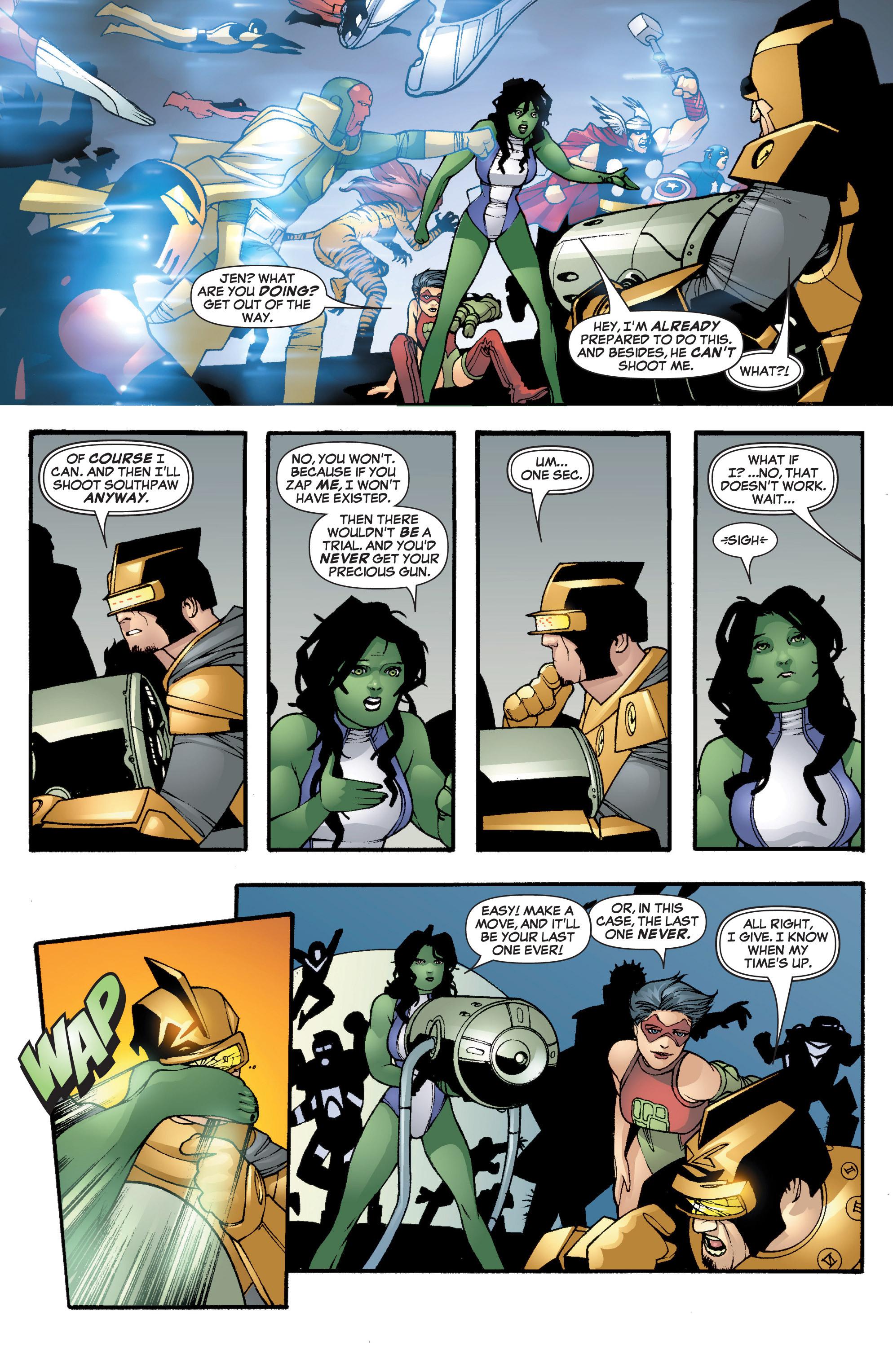 Read online She-Hulk (2005) comic -  Issue #3 - 32