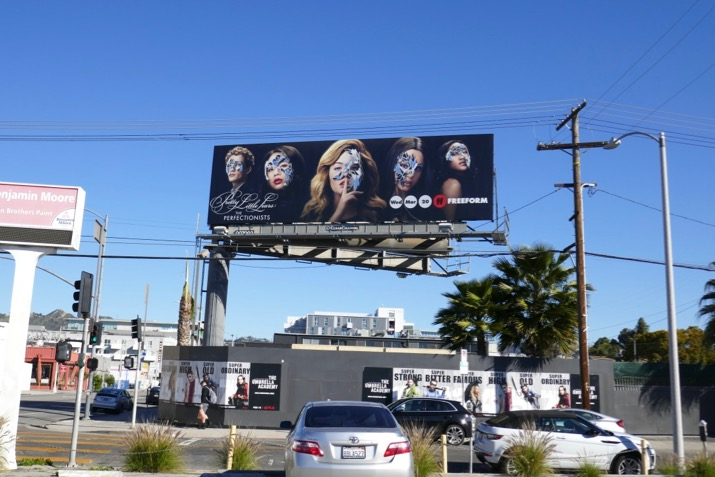 Pretty Little Liars Perfectionists TV billboard