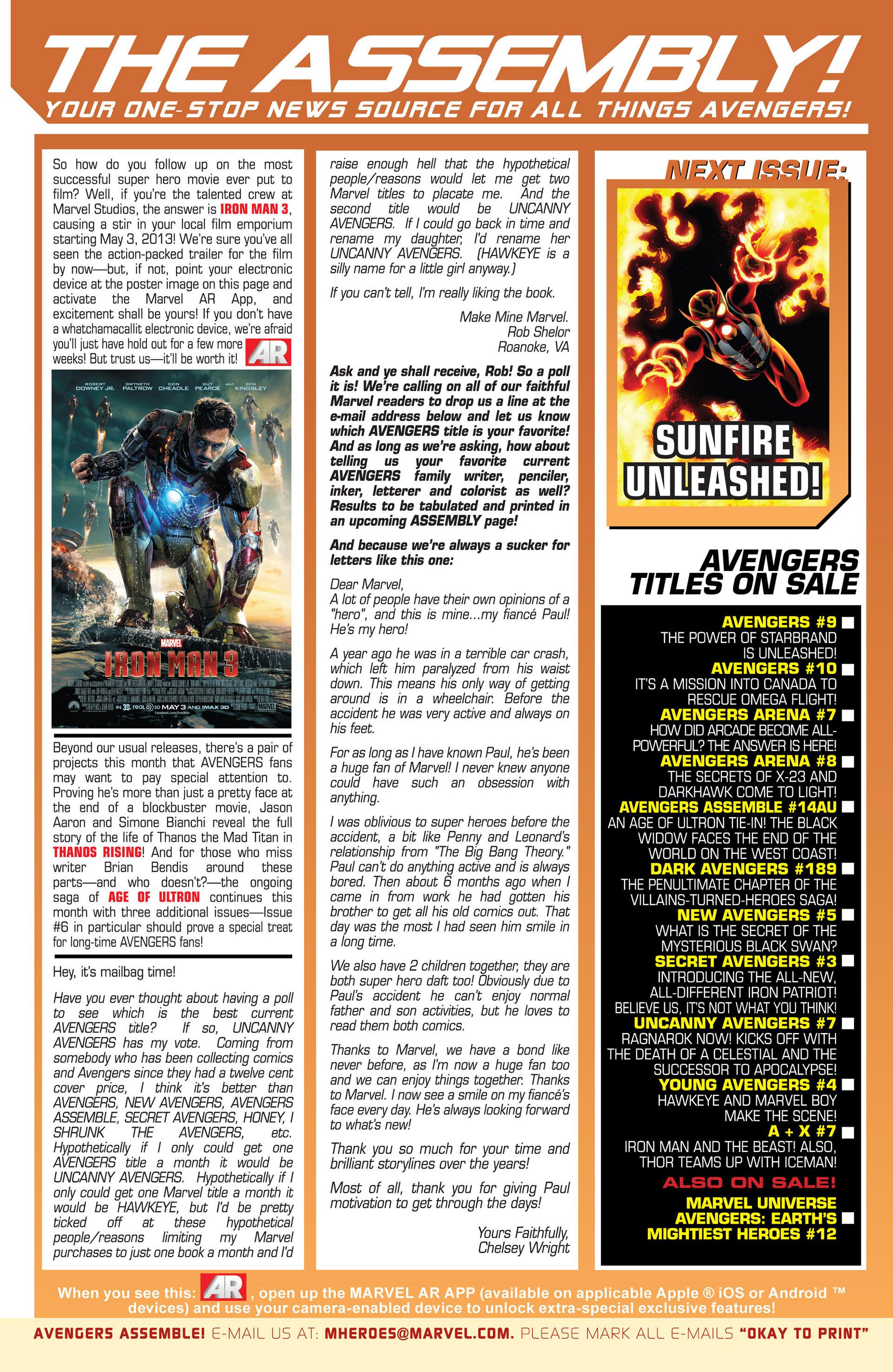 Read online Uncanny Avengers (2012) comic -  Issue #7 - 21