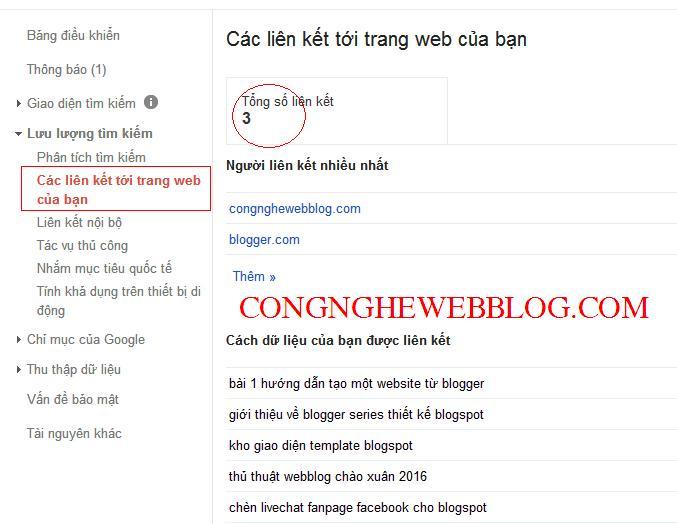 huong dan disavow lien ket xau cho blogspot