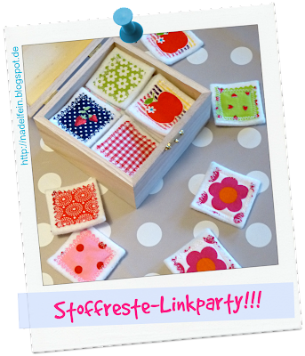 Stoffreste Stoffresteparty Stoffreste-Linkparty Blogaktion Blogparade