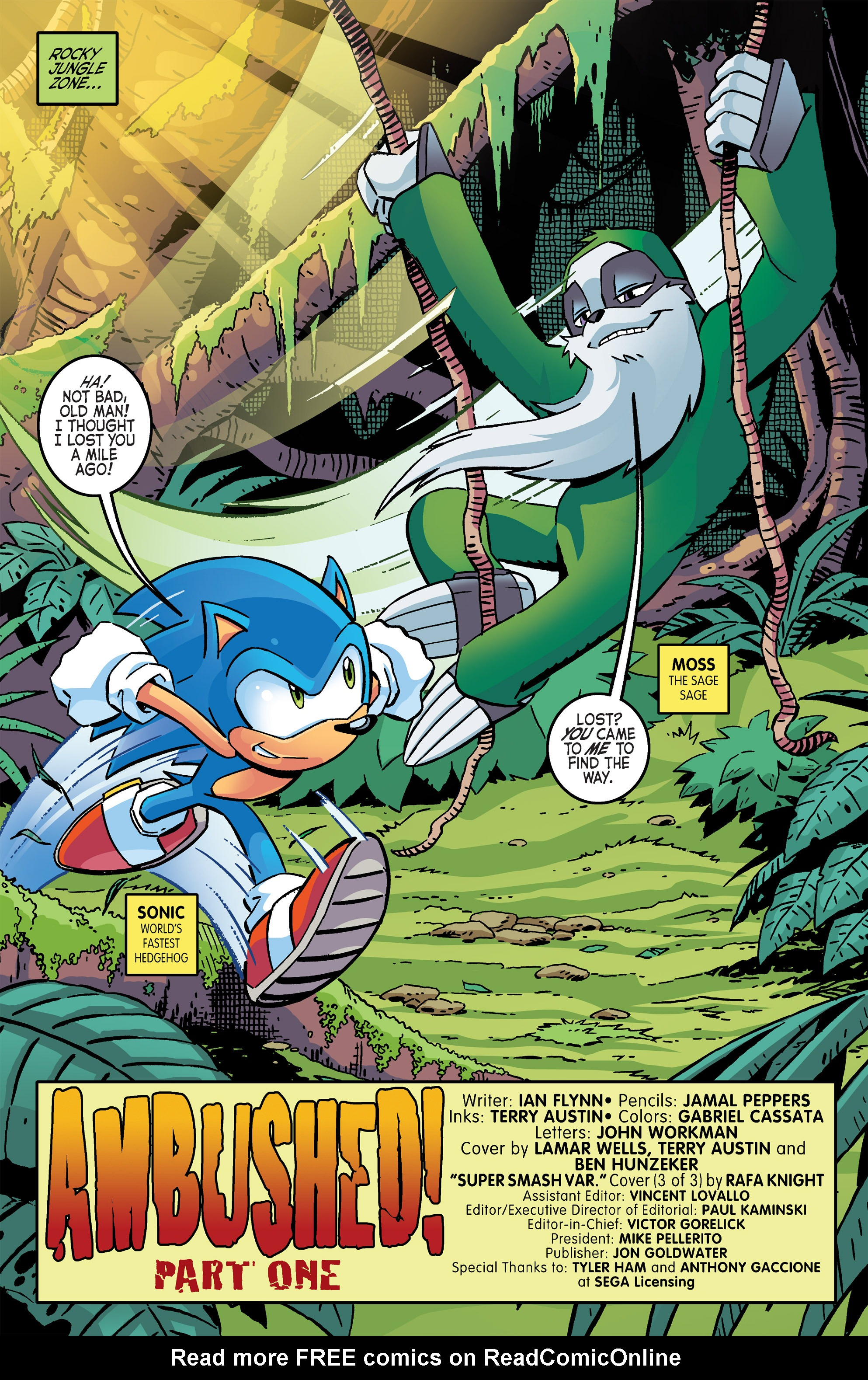 Read online Sonic The Hedgehog comic -  Issue #266 - 3