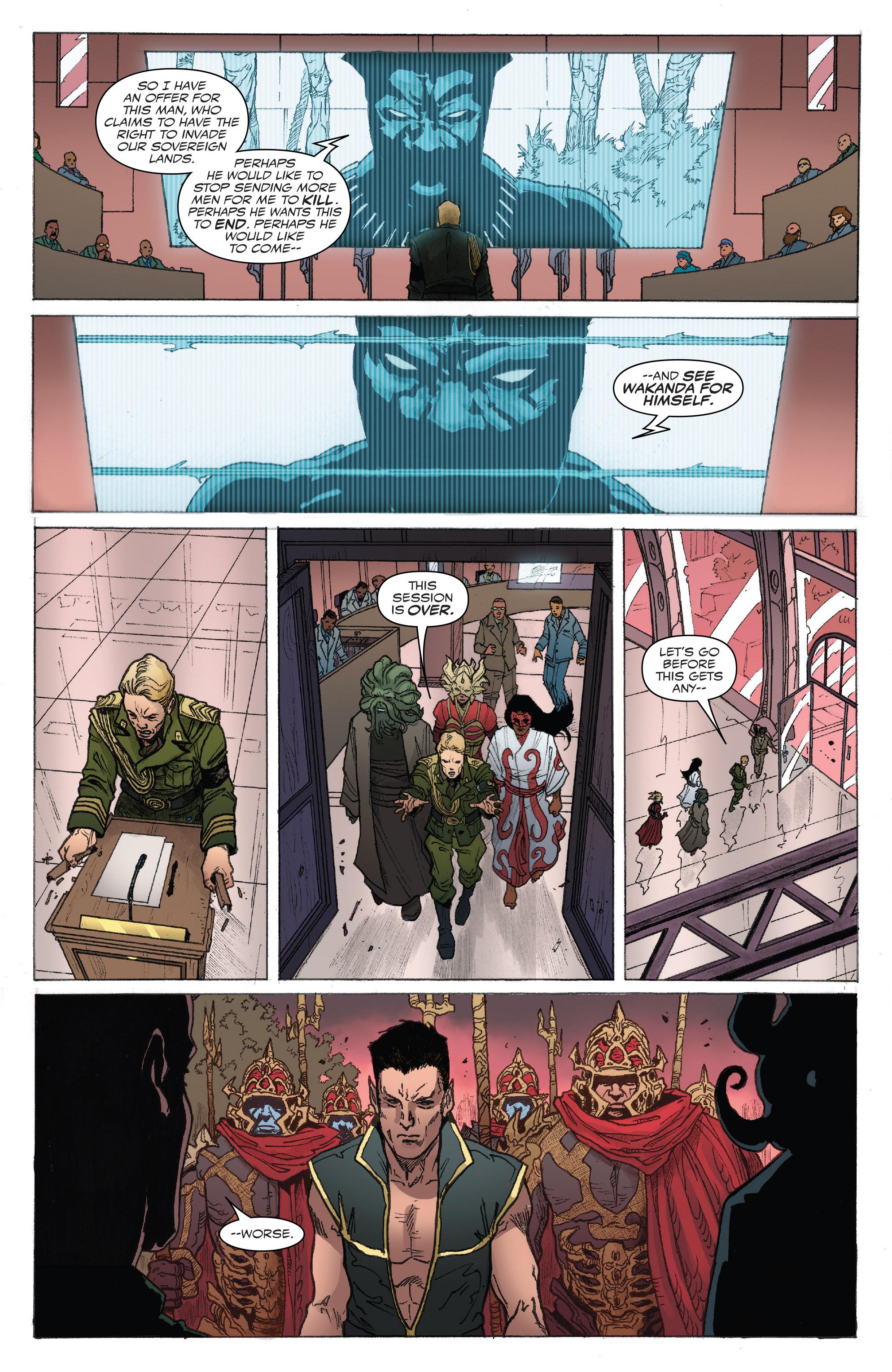 Read online Captain America: Steve Rogers comic -  Issue #18 - 19