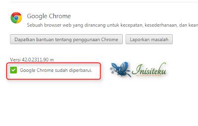 update mudah google chrome di windows 7