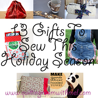 13 gifts to sew