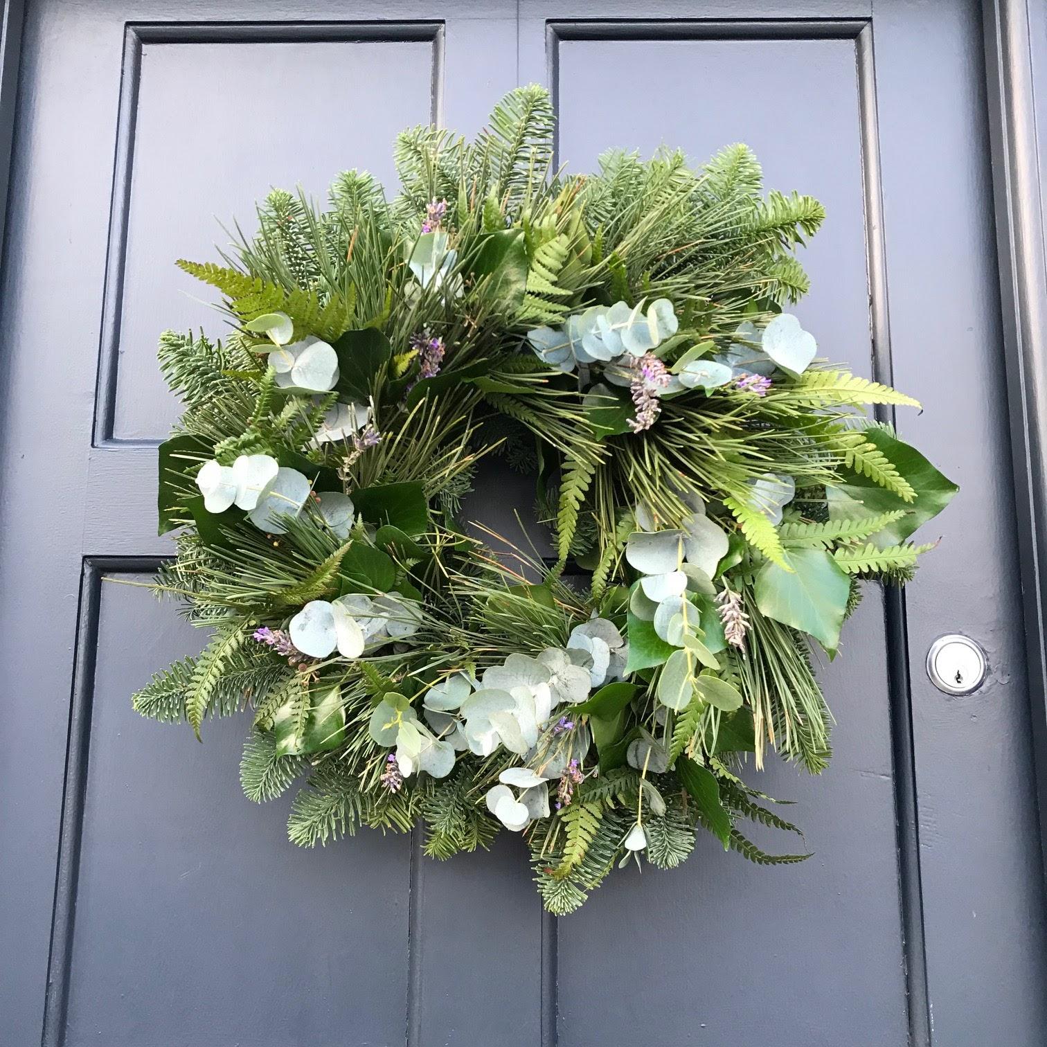Diy Christmas Wreath Garland Old Victorian New