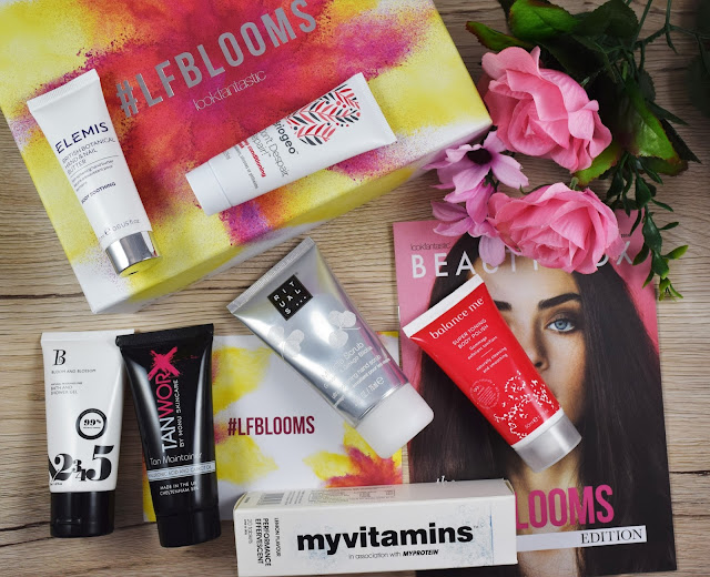 Look Fantastic April 2016 #LFBLOOMS Beauty Box