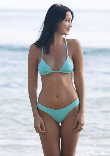 Hot girls Bella Hadid sexy Hollywood actress with Bikini 3