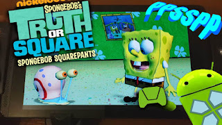 Game Spongebob's Truth or Square PPSSPP ISO