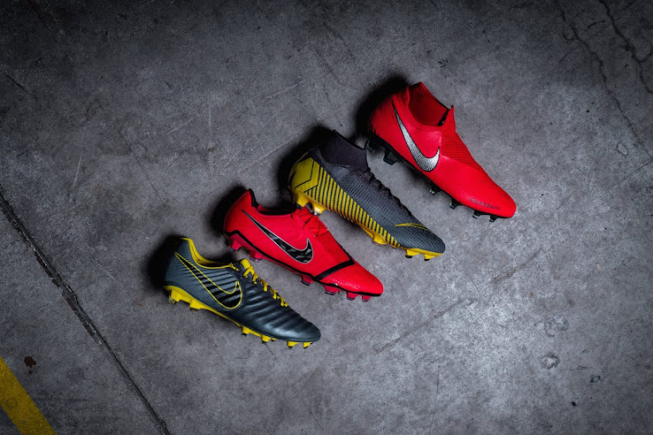 ...  thunder grey  Mercurial Superfly and Vapor as well as the  dark grey   Tiempo. The boots are already available to buy at Nike.com and select  retailers. d3e1a5527027a