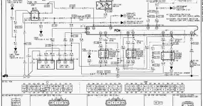 2000 Mazda MX5 Miata Wiring Diagram  Wiring Diagram