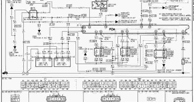 2000 Mazda MX-5 Miata Wiring Diagram