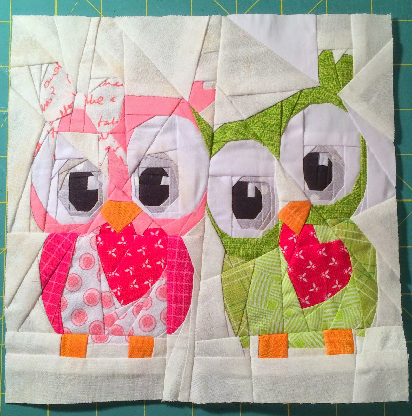 Paper Pieced Quilt Patterns For Babies: Sewing With Squeak: Free Valentine Paper Pieced Pattern #2