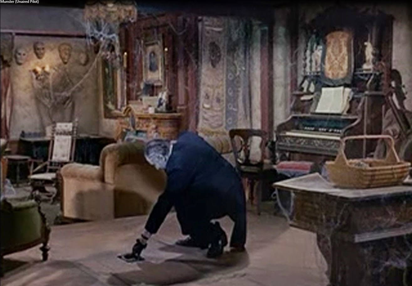 Inside the munster house screen shots of all interiors and for The addams family living room