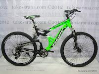 26 Inch Pacific Tarago CX7 Alumunium Alloy Frame Full Suspension Mountain Bike