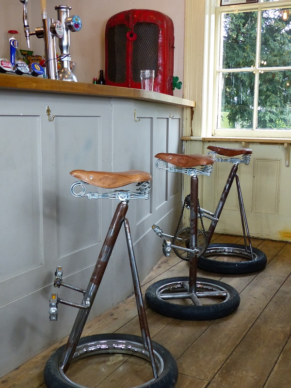 Myfashionconnect Global Retro Bicycle Bar Stool Add Pedal