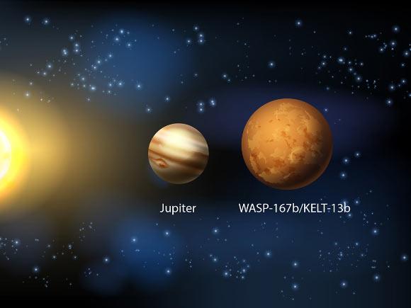 Astronot Temukan Eksoplanet Jupiter Baru Bernama WASP-167b (KELT-13b)