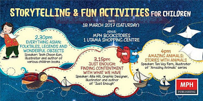 How about Storytelling & Fun Activities for Children at MPH
