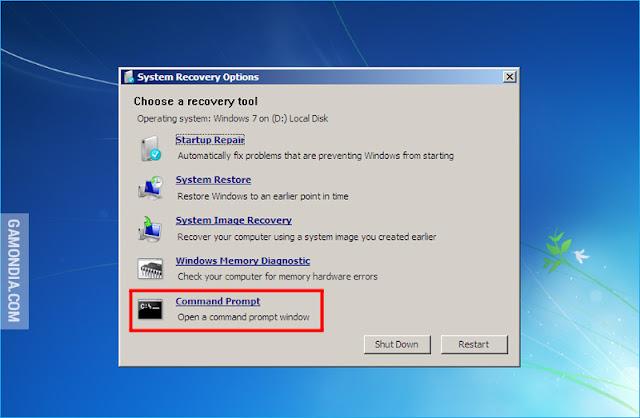 Cara Mengatasi Windows Lupa Password Log In