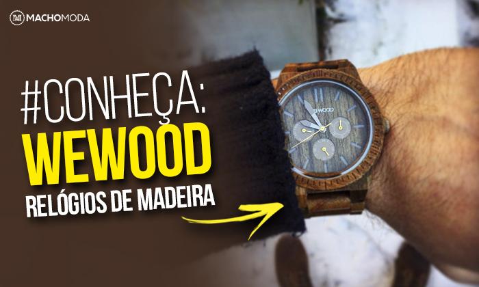 16224c1661 Fundada em 2009 por um italiano apaixonado por Relógios e por 2  eco-empreendedores, a WeWood produz Relógios de Madeira! SIM, Relógios  Masculinos de Madeira ...