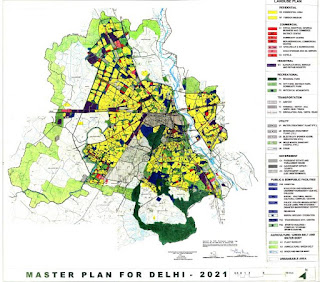 Review of Master Plan for Delhi 2021