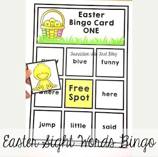 easter, paper, chick, techteacherpto3, foundation into first, template, download, teaching, teachers pay teachers, bingo, game, activity, activities