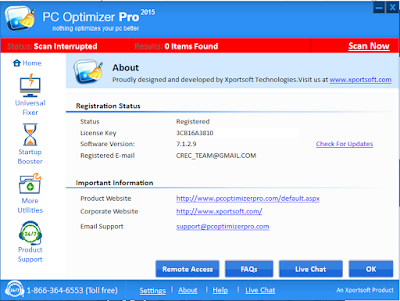 pc optimizer pro crack keygen pes