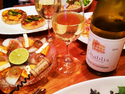 Happy 20th Anniversary with 2013 CHABLIS Jacques Bourguignon