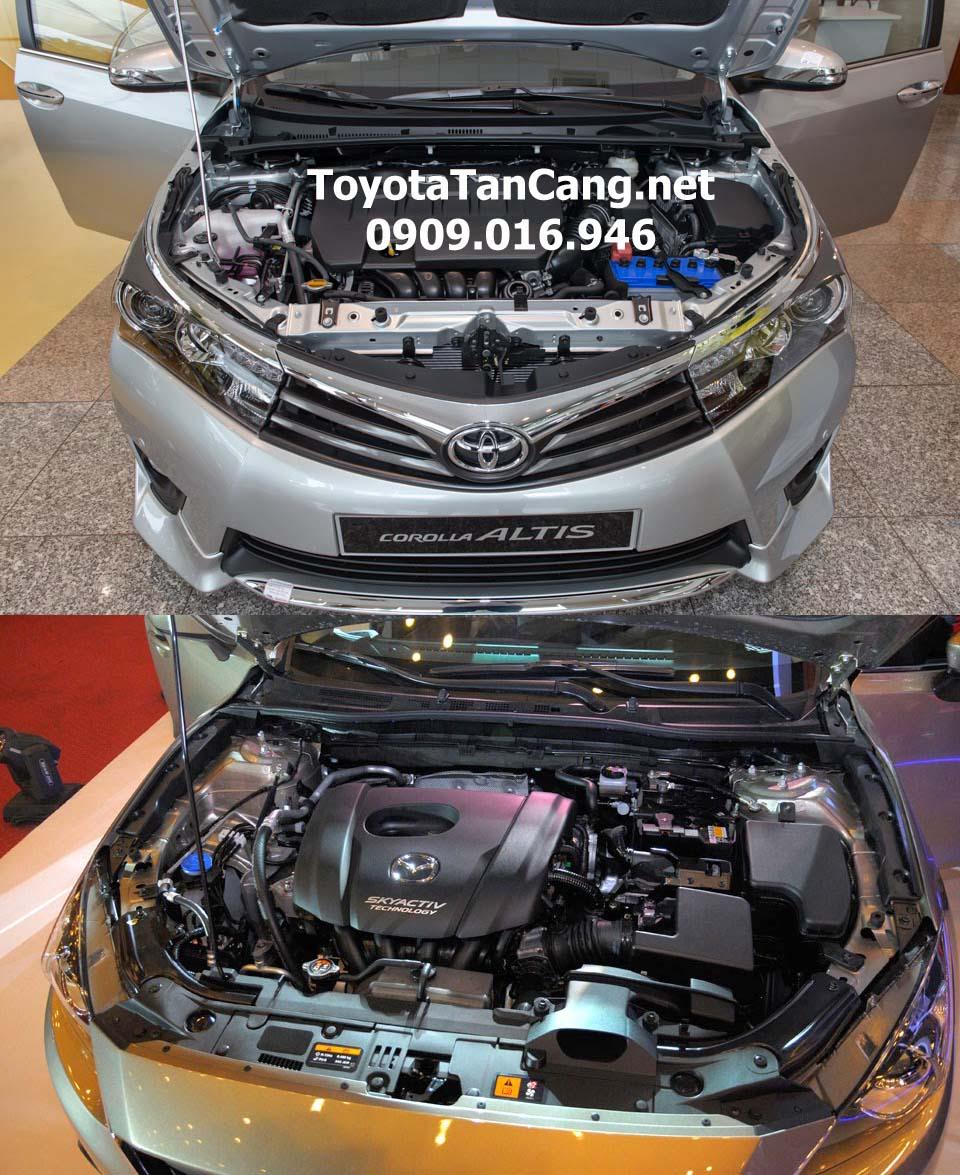 Nên mua xe Mazda 3 hay Toyota Corolla Altis 2016 trong phân khúc sedan hạng C