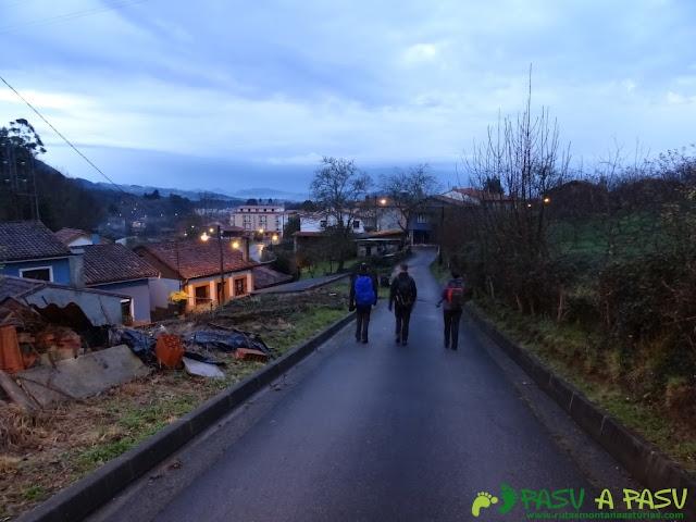 Ruta al Pico Gobia y La Forquita: Entrando en Prado desde La Forquita