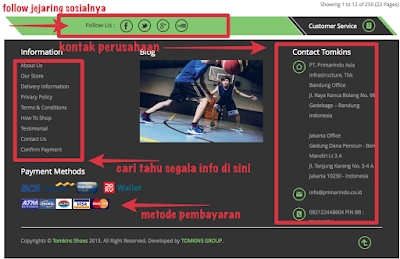Cek semua informasi TOMKINS Indonesia di websitenya