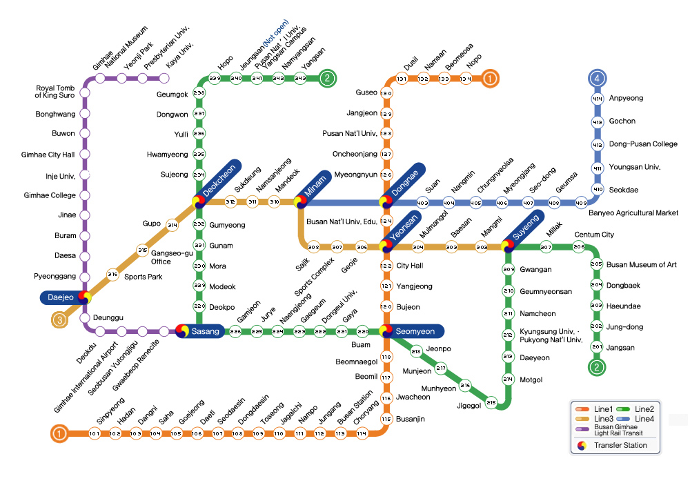 Knowing Gyeongju Subway Map When Traveling To South Korea