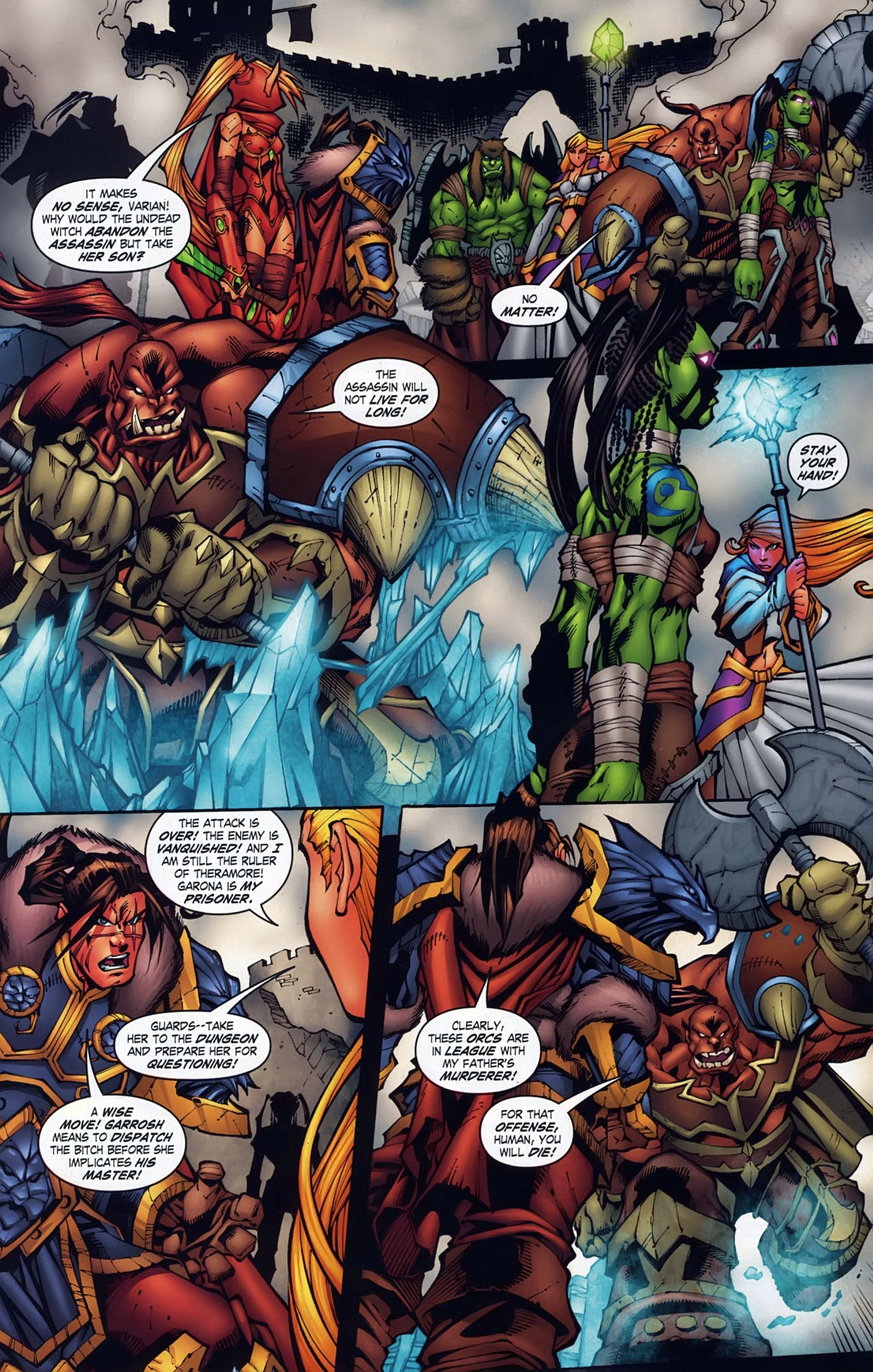 Read online World of Warcraft comic -  Issue #18 - 13