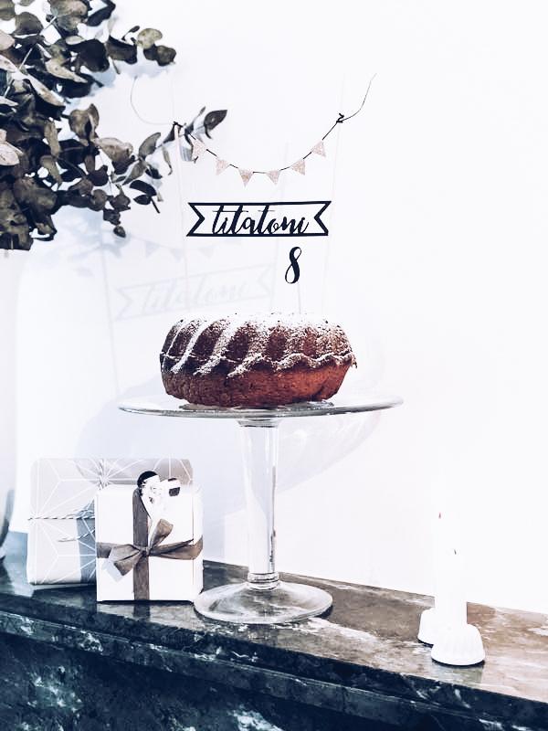 DIY Geburtstagsparty: Party: 8 Jahre voller DIY-Ideen, Rezepte und Inspirationen! #titatoniwird8